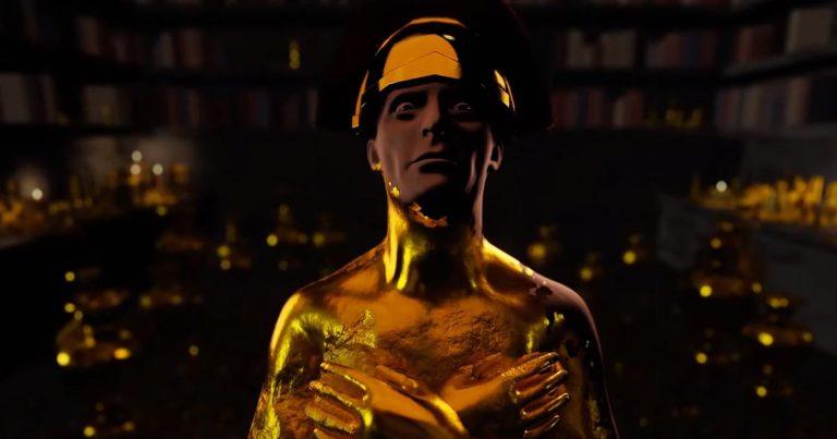 Barishi y el vídeo de 'Entombed in Gold Forever'