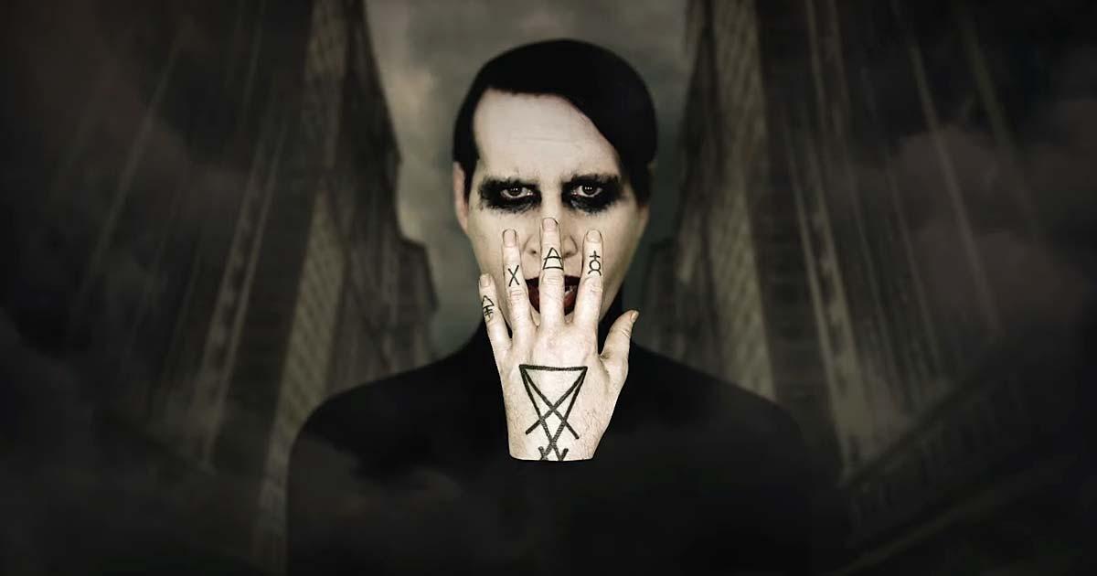 Marilyn Manson estrena el vídeo de 'We are chaos'